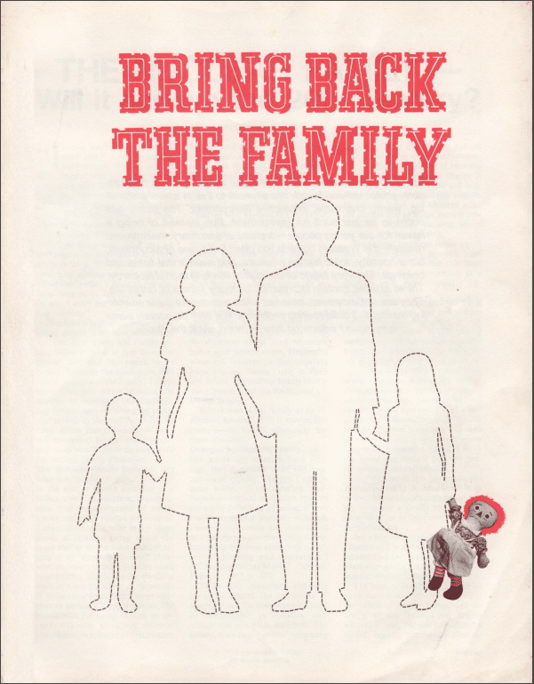 Bring Back the Family