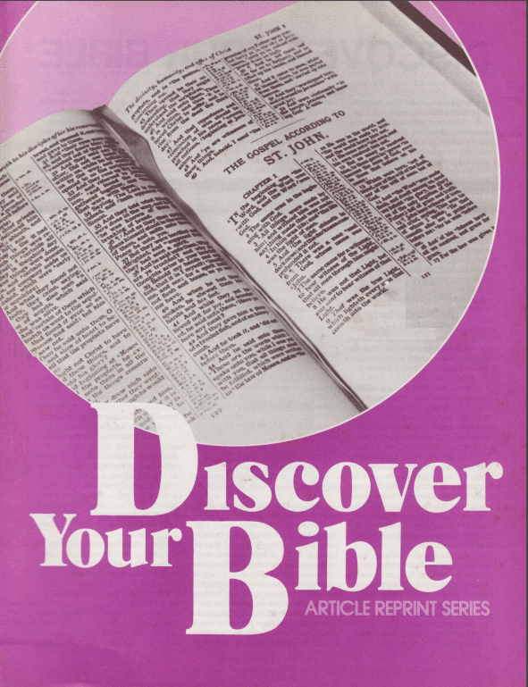 Discover Your Bible