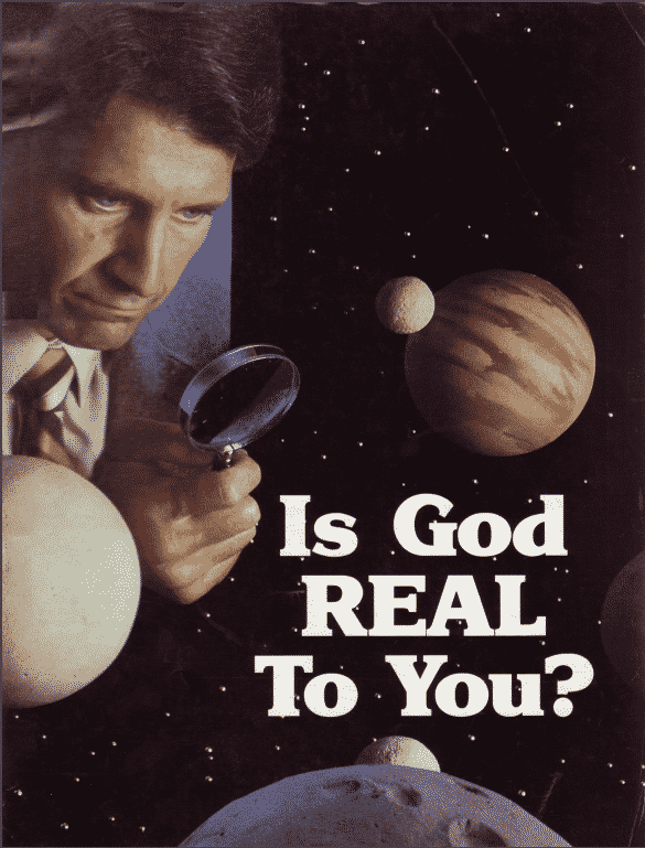 Is God Real to You?