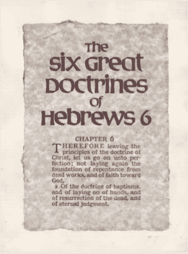 The Six Great Doctrines