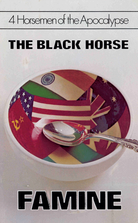 4 Horsemen of the Apocalypse - The Black Horse - FAMINE