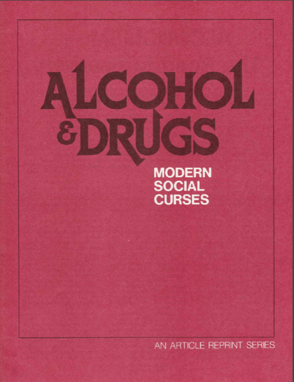 Alcohol and Drugs - Reprint Series