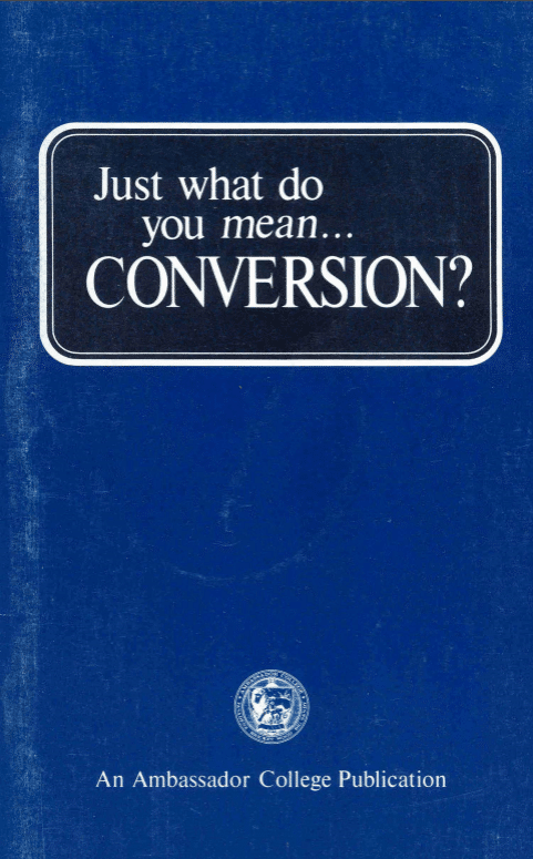Just What Do You Mean - Conversion?