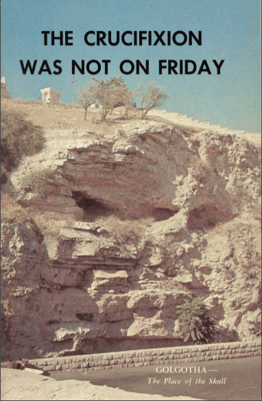 The Crucifixion was not on Friday