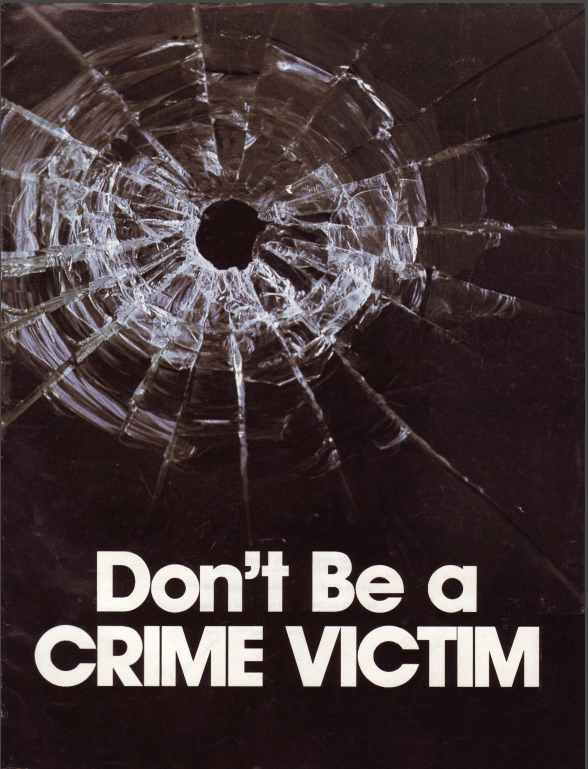 Don't Be Crime Victim