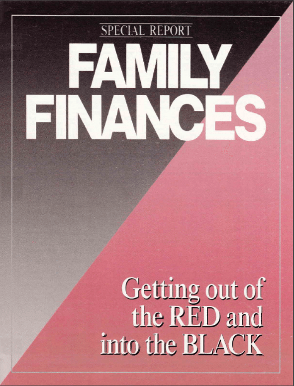 Family Finances - Special Report