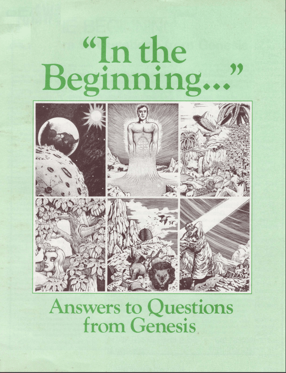 In the Beginning Answers to Questions from Genesis