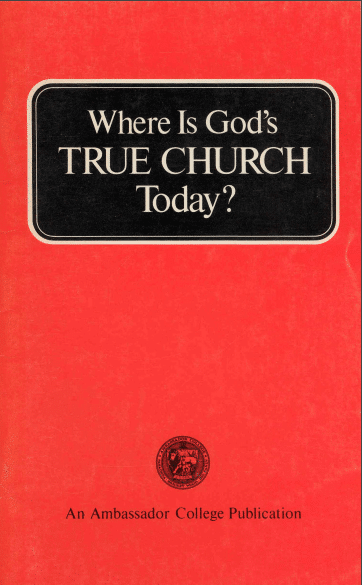 Where is God's True Church Today